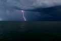 Taken at the Naples Pier as a storm was approaching.