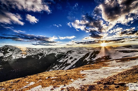 Sunset over Iceberg Pass | Rocky Mountain National Park, CO | June, 2013