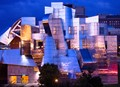 Sunset reflected from the Weisman Art Museum, Minneapolis, USA