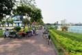 Pensioners in Hanoi