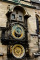Prague's Astronomical Clock at The Old Town Square