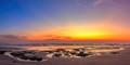 Konkan beach at twilight