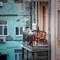 Couple on Kiev Balcony