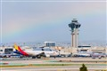 Rainbow over LAX