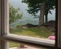 View Through a Window at Hildene