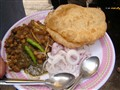 Chole Bhature at Delhi!