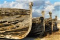 ancient boats fo tuna fishing