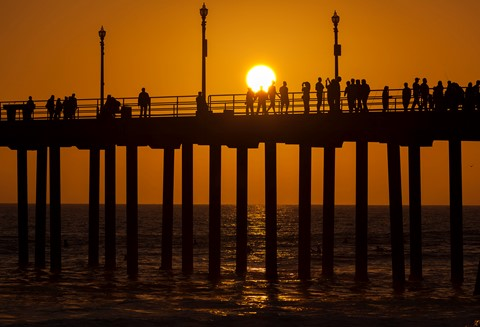 2013 10 13 Huntington Beach Pier Sunset IMG_2215