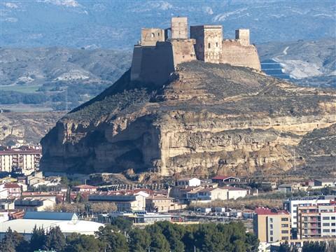 Castillo desde la Alegria