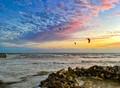 Key West kite surfers
