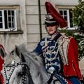 The Queens horse guard