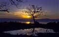 Israel - Sunset over the Lake of Galilee