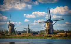 Windmill in Kinderdyk