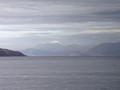Caledonian MacBrayne ferry with Ben Nevis in the background