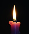 Colorful Candle - Simple Flame