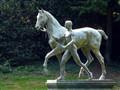 Horse & Man, Wallanlagen Park, Bremen (D)