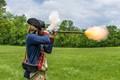 Firing a Musket
