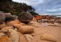 Honeymoon Bay rocks