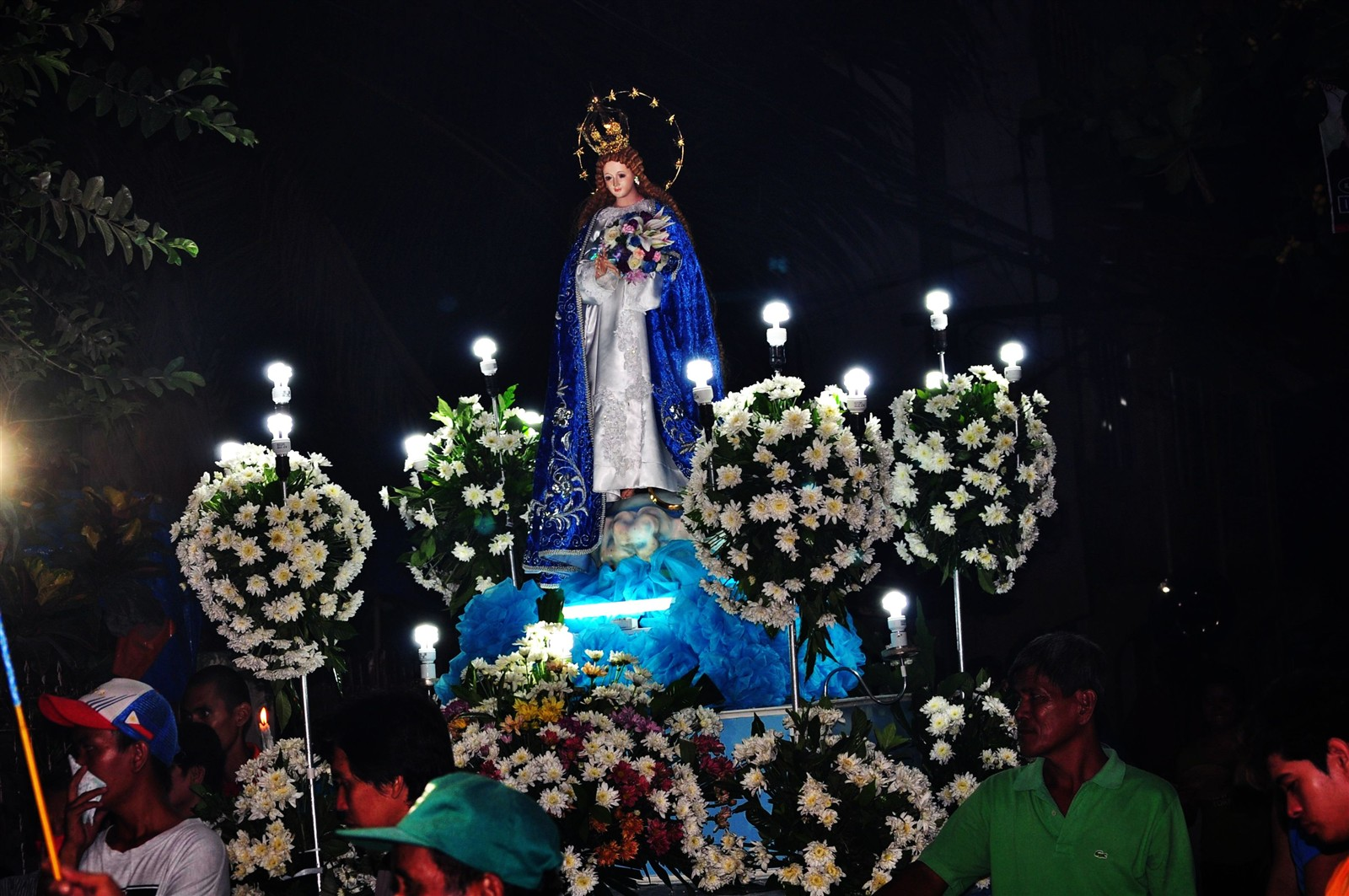 Image result for images of may processions of the blessed virgin mary