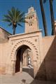 Koutoubia Mosque's minaret tower of Marrakech