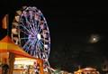 Ferris wheel & moon