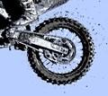 Motocross Wheel Detail