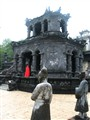Grounds of Khai Dinh's Mausoleum, Hue, Vietnam