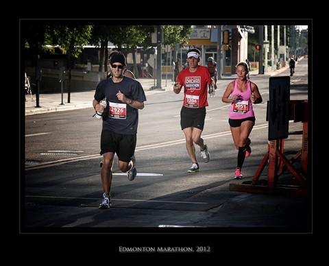 EDMONTON MARATHON 2012
