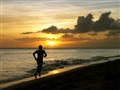 Sunset Run on Kaapanali Beach