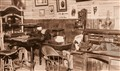 Newspaper office c.1880