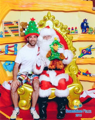 Me, Santa and Alf