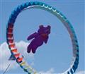 Flying through hoops