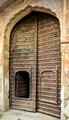 Very old metallic doors in India