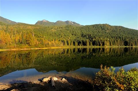 Wap Lake Morning Reflection