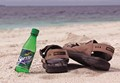 Sprite on the beach