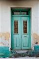 Turquoise Door in Crete
