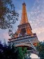 The Eifel Tower in Paris