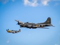 P-51 and B-17