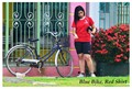 Blue Bike, Red Shirt