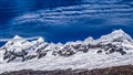 Clouds cast shadows over the Cordillera Blanca