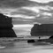 2016-07-16 Australia Great Ocean Road 0120 12 Apostles CS BW SFX