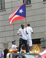 P.Diddy at the Puerto Rican Day Parade