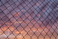 Chain Link Sunrise