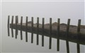 Misty morning with refections