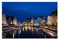 A night in Ghent, Belgium
