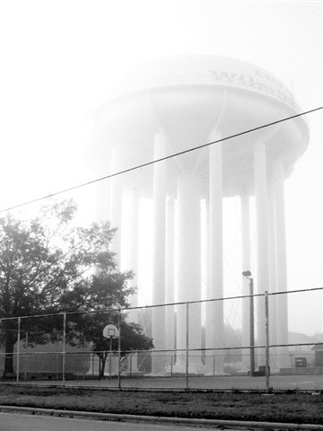 water tower 2 - small contrast