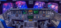 Space Shuttle Cockpit-