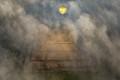 Teotihuacan Pyramid and Hot air Balloon IMG_5790