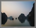 Ha Long Bay at sunrise