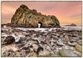 Keyhole Rock in Pfeiffer Beach, Big Sur, California.  This was taken last December.  Sadly, last winter's storms damaged Highway 1 in several places, so it is impossible to get here for a few more months until the road reopens.